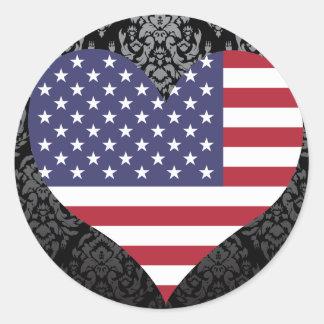 Compre la bandera de Estados Unidos Pegatina