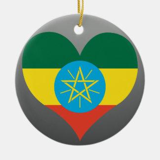 Compre la bandera de Etiopía Adorno De Navidad
