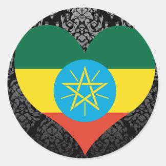 Compre la bandera de Etiopía Pegatinas