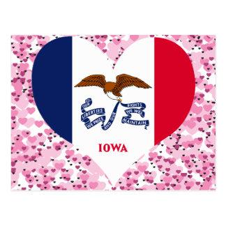 Compre la bandera de Iowa Postal