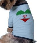 Compre la bandera de Irán Camiseta De Perro