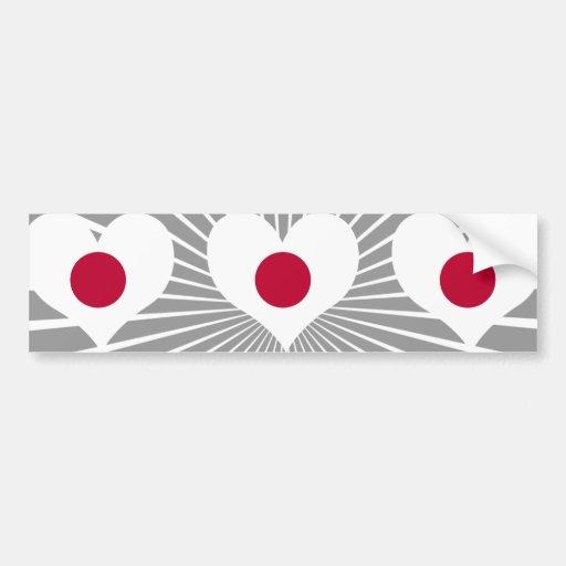 Compre la bandera de Japón Pegatina Para Auto