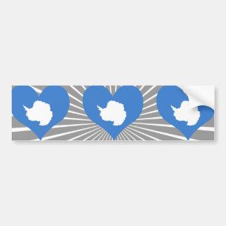 Compre la bandera de la Antártida Etiqueta De Parachoque