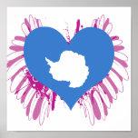 Compre la bandera de la Antártida Impresiones
