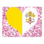 Compre la bandera de la Ciudad del Vaticano Postal