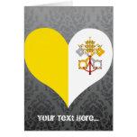 Compre la bandera de la Ciudad del Vaticano Felicitación
