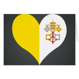 Compre la bandera de la Ciudad del Vaticano Tarjeton