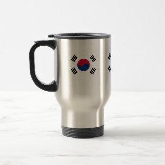 Compre la bandera de la Corea del Sur Taza Térmica