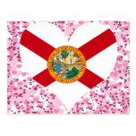 Compre la bandera de la Florida Postales