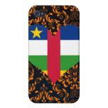 Compre la bandera de la República Centroafricana iPhone 4 Protectores