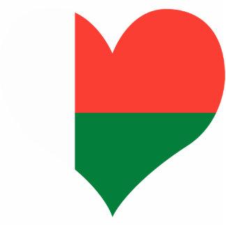Compre la bandera de Madagascar Fotoescultura Vertical