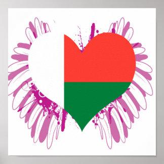 Compre la bandera de Madagascar Impresiones