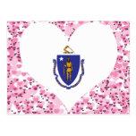 Compre la bandera de Massachusetts Postal