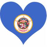 Compre la bandera de Minnesota Escultura Fotografica