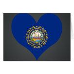 Compre la bandera de New Hampshire Felicitaciones