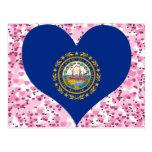 Compre la bandera de New Hampshire Postales