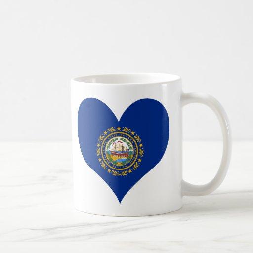 Compre la bandera de New Hampshire Tazas De Café