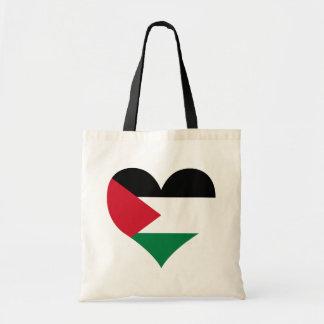Compre la bandera de Palestina Bolsa Lienzo