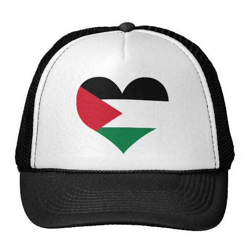 Compre la bandera de Palestina Gorras