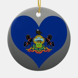 Compre la bandera de Pennsylvania Adorno De Navidad