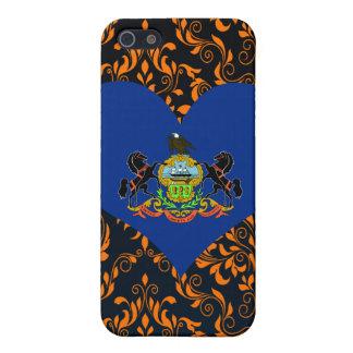 Compre la bandera de Pennsylvania iPhone 5 Carcasas