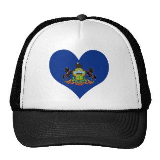Compre la bandera de Pennsylvania Gorras