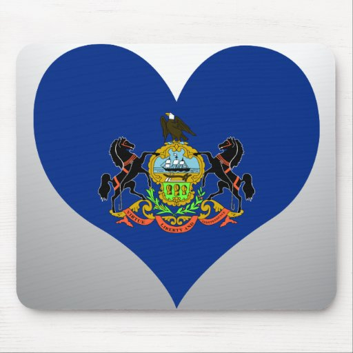 Compre la bandera de Pennsylvania Alfombrilla De Ratones