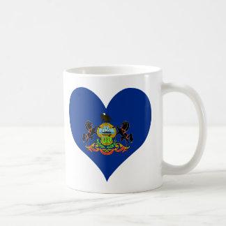 Compre la bandera de Pennsylvania Taza De Café