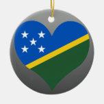 Compre la bandera de Solomon Island Ornamento De Navidad