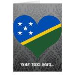Compre la bandera de Solomon Island Felicitacion