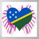 Compre la bandera de Solomon Island Poster