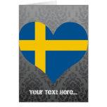 Compre la bandera de Suecia Felicitación