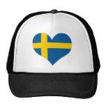 Compre la bandera de Suecia Gorros Bordados