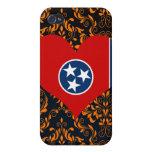Compre la bandera de Tennessee iPhone 4 Cobertura