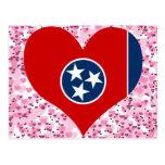 Compre la bandera de Tennessee Tarjeta Postal