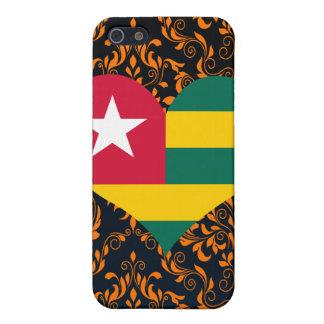 Compre la bandera de Togo iPhone 5 Carcasa