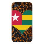 Compre la bandera de Togo iPhone 4 Carcasas