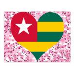 Compre la bandera de Togo Tarjeta Postal