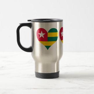 Compre la bandera de Togo Taza Térmica