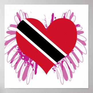 Compre la bandera de Trinidad and Tobago Impresiones