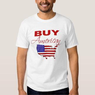Compre la camiseta americana poleras