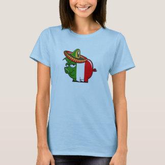 Compre la camiseta de la GRIPE del CERDO aquí
