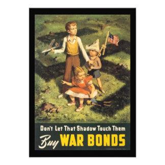 Compre la guerra mundial de los enlaces de guerra invitaciones personalizada