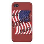 Compre la onda hecha americano iPhone 4 protector