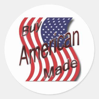 Compre la onda hecha americano pegatinas