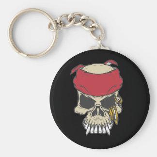 Compre llaveros a granel del cráneo del pirata