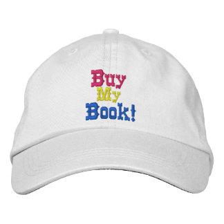 Compre mi casquillo bordado libro gorro bordado