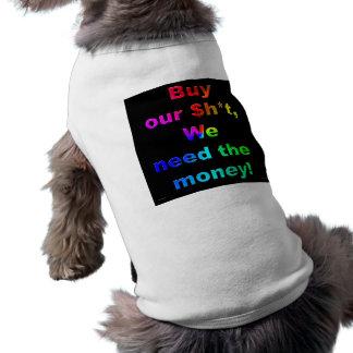 Compre nuestro $h*t playera sin mangas para perro