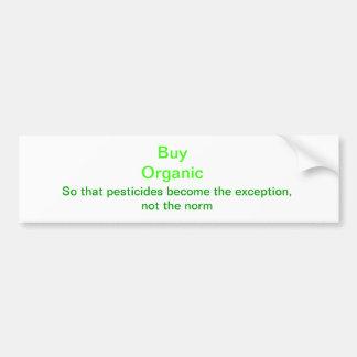 Compre orgánico pegatina para auto