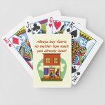 Compre siempre la tela barajas de cartas